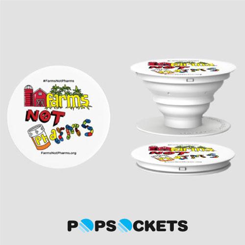 FarmsNotPharms™ Pop Socket®