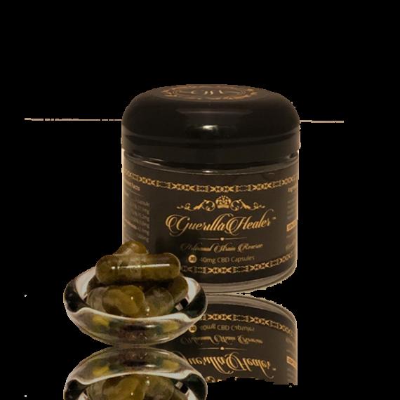 60mg CBD capsules | 1800mg | Solvent-Free | Full Spectrum