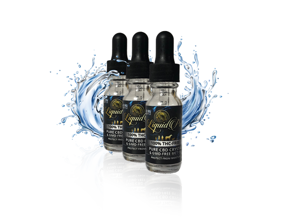 THC-FREE PURE CRYSTAL TINCTURE