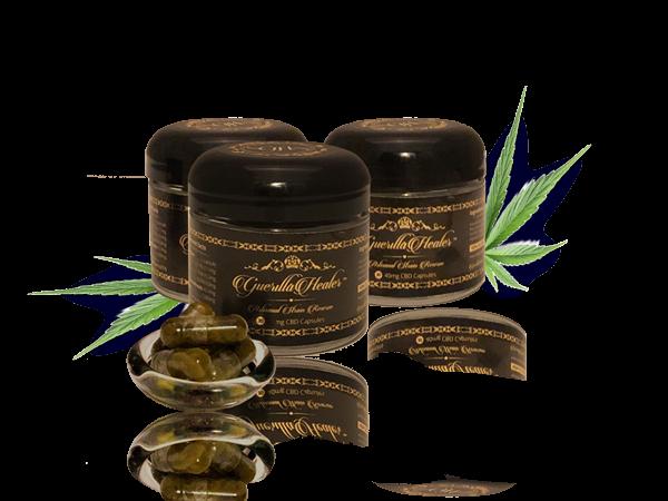 GH Gold™  CBD capsules | Full Spectrum  Organic Coconut Oil